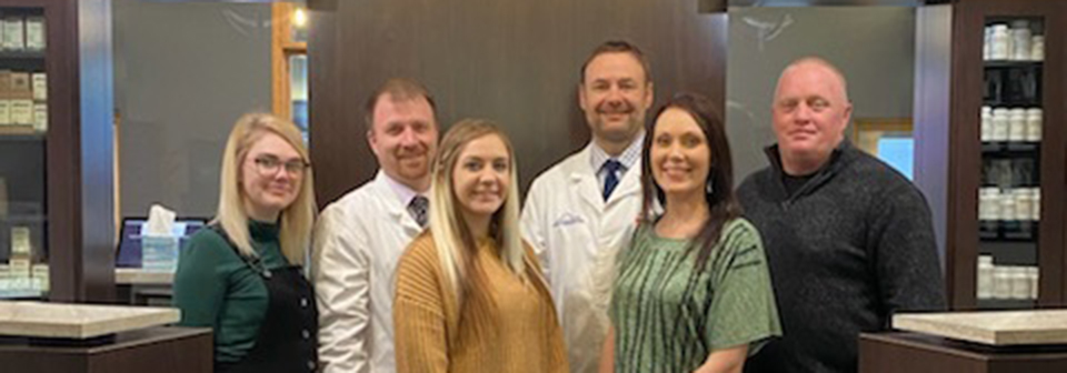 Chiropractor Hutchinson KS Dr. Schroeder With Team